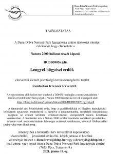 Natura 2000 tájékoztató